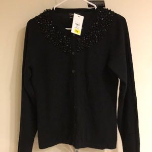 NWT red moon cashmere cardigan